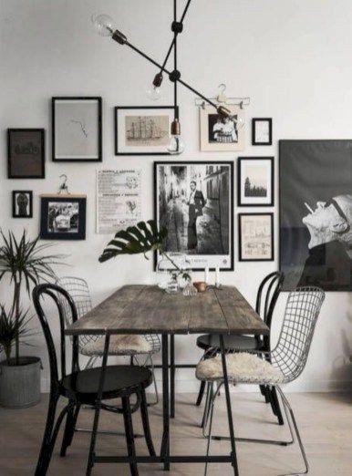 Wall Art Dining Room Beautiful 45 Awesome Wall Art Inspiration Ideas For Your Living Ide Dekorasi Rumah Dekor Ruang Makan