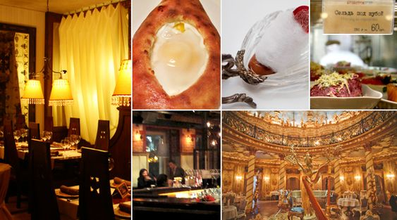 Moscow's Best Restaurants, From Formal to Funky - Moscow's Best Restaurants, From Formal to Funky | Epicurious.com | Epicurious.com