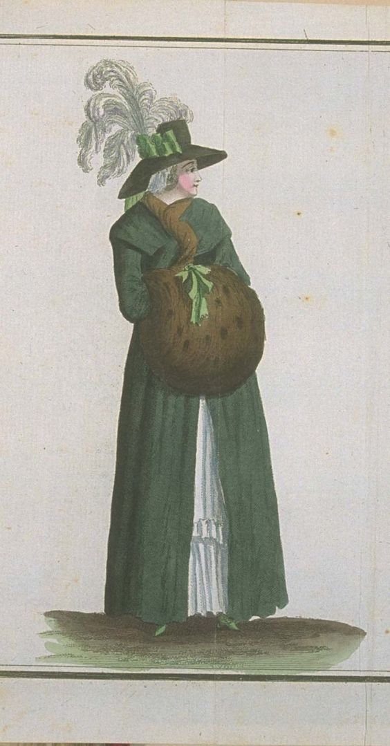Magasin des Modes, March 1789.