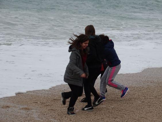 sur la plage de Cassis