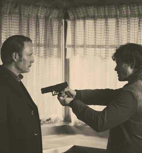 Hannibal | Will and Dr Lecter