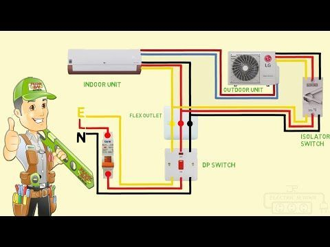 Pin By Mustapha On T Ac Wiring Home Electrical Wiring Basic Electrical Wiring