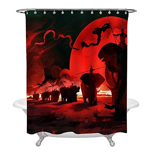 62466ec43b5ce634dcd1c105665f2a9c - Better Homes And Gardens Global Elephant Shower Curtain
