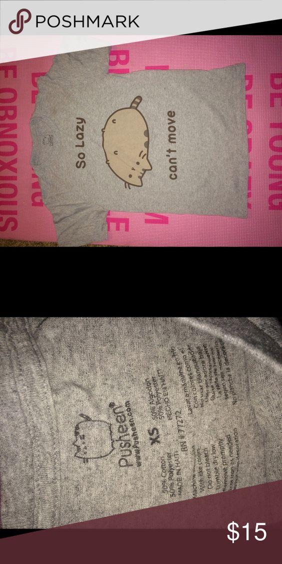 PUSHEEN  XS T-SHIRT!!NEW NEVER BEEN WORN Pusheen cat xs tshirt Hot Topic Tops Tees - Short Sleeve
