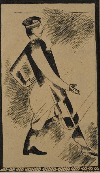 Marc Chagall - Walking Man