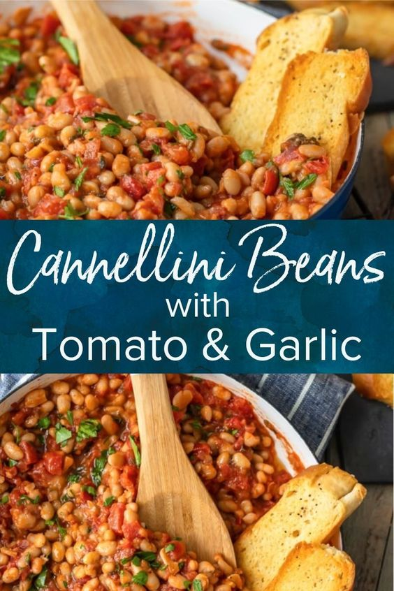White Beans with Tomato & Garlic