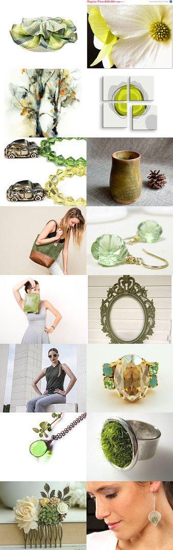 Green by Talila on Etsy--Pinned with TreasuryPin.com
