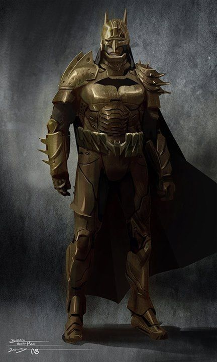 Brass Armor Batman