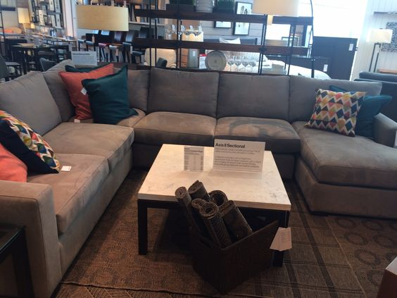 High Quality Perfect Sectional Sofa   Axis Crate And Barrel