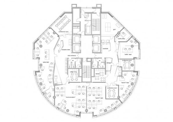 Floor Plans Offices And Floors On Pinterest