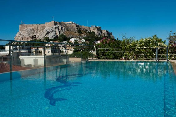 Electra Palace Hotel Athens - first stop on Greece trip July 2016