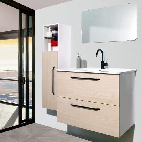 Auten Modern 32 Wall Mounted Single Bathroom Vanity Set With