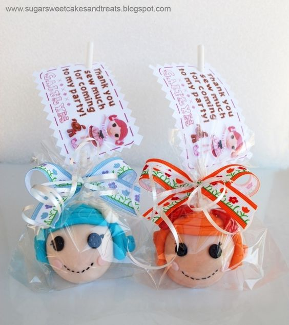 lalaloopsy dolls and more cake pop favors lalaloopsy cake pop pop ...