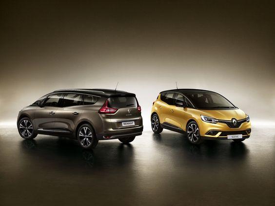 La gamme des Renault Scenic revisitée