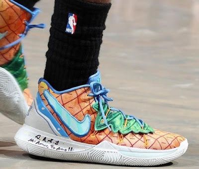 Nets Guard Kyrie Irving Debuts Nike