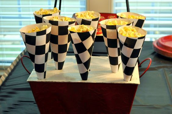 Race Car Themed Birthday Party: