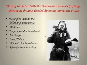 the establishment and impact of women movements in the united states Nineteenth century reform movements: the women's rights movement in the united states women, extraordinary lives women in american history a history of the anti-suffrage movement in the.