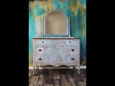 How To Layer And Blend With Chalk Paint Putty Knife Add Texture To Chalk Paint Youtube Chalk Paint Chalk Painted Furniture