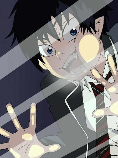 Anime lock screen - Blue Exorcist / Ao no Exorcist - Rin Okumura This took me FOREVER to make!!