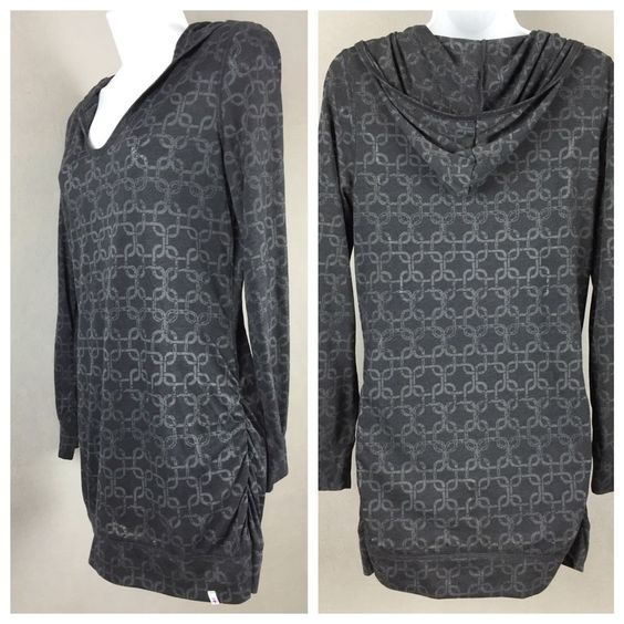 Soybu #Yoga Athletic #Tunic #Hoodie Size L Lightweight Knit Top Polyester Rayon #Soybu #ShirtsTops