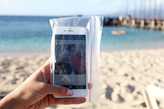 Bring Your Own Spare Ziploc Bags: