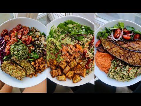 Summer Buddha Bowls Plant Based Youtube In 2020 Easy Healthy Recipes Trini Food Veggie Recipes