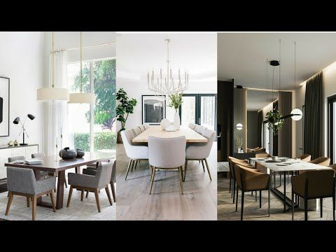 Home Decor Youtube In 2020 Dining Room Design Modern Dining Table Design Dining Table Design Modern