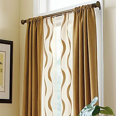 the wavy sheer curtain comes in many colors -- | Products I Love ...