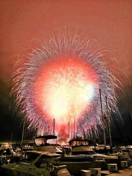 San Diego fireworks explosion 2012 - wow wow wow