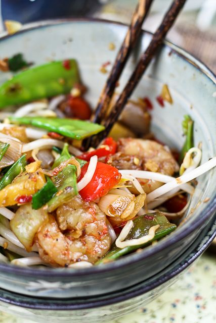 Quick and Easy Pineapple Shrimp Stirfry