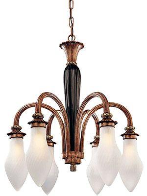 Ruhlmann inspired Art Deco chandelier | More on the myLusciousLife blog: www.mylusciouslife.com