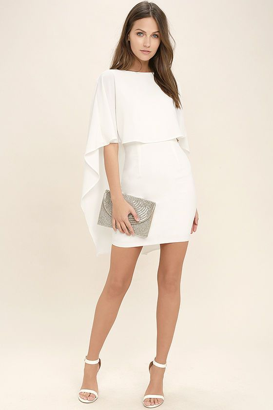 $56 Best is Yet to Come White Backless Dress 2