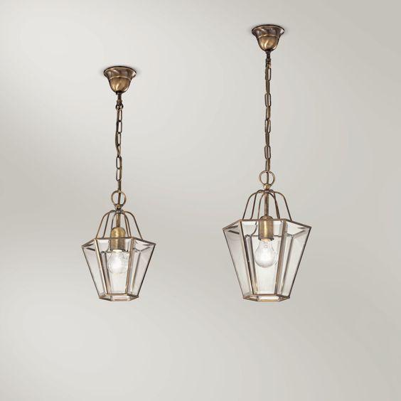 Best Edle Wohnraum Lampe Sechseckige Laternen in sibergl nzendem Chrom Messing vergoldet oder Messing br niert