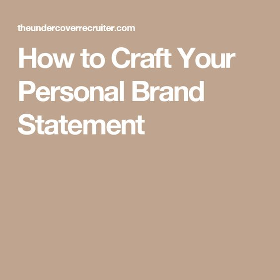Best 25+ Personal brand statement ideas on Pinterest Vision - resume branding statement examples