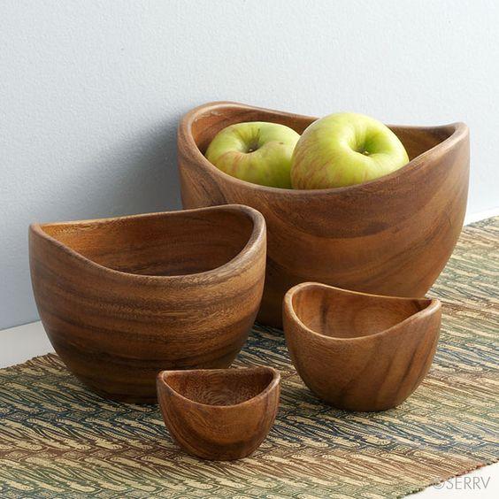 Wood Contours Bowls | serrv.org