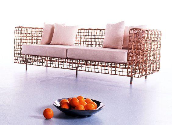Kenneth Cobonpue BALOU Sofa Designed By Kenneth Cobonpue Sofa   Balou  Rattan Mobel Kenneth Cobonpue