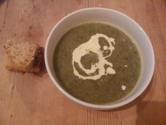 レシピとお料理がひらめくSnapDish - 3件のもぐもぐ - leek and watercress soup with homemade bread by holly