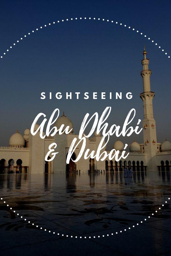 Sightseeing Tipps für Abu Dhabi und Dubai