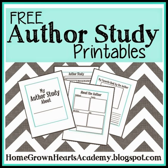 Famous Authors Worksheets - Worksheets, Lesson Plans ...