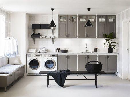 Badrum tvättstuga badrum : Lyxig drömtvättstuga med mycket funktion – Nytt kök badrum och ...