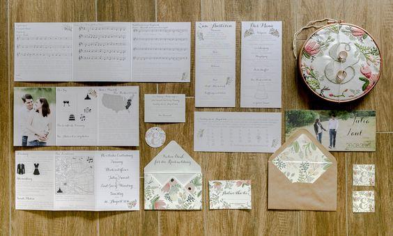 Hochzeitspapeterie Foto: Hanna Witte Hochzeitsreportagen Köln