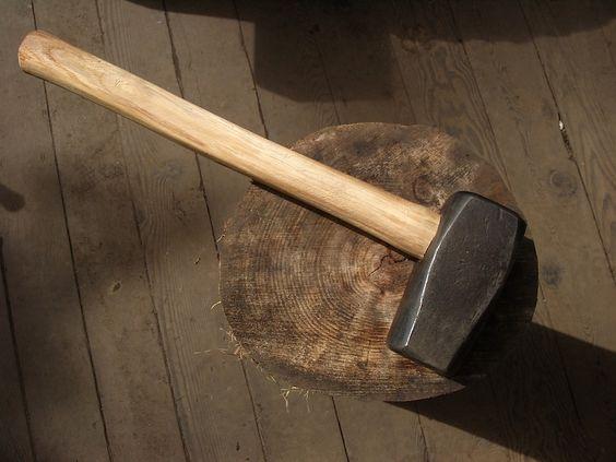 Island Blacksmith: Hand forged tools