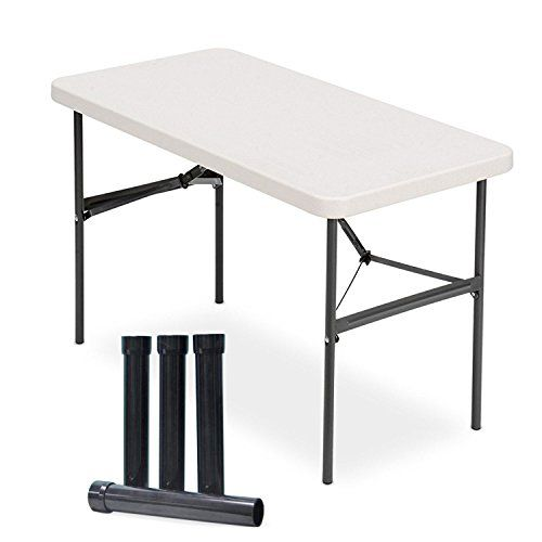 Lift Your Table Folding Table Risers Extenders Straight Leg Kit Save Your Back Folding Table Table Home Decor