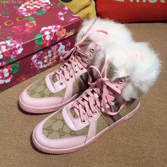 pink Gucci sneaker