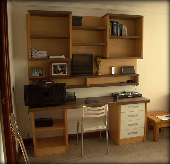 escritorio para dormitorio particular