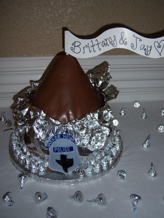hershey kiss grooms cake fun cakes pinterest groom