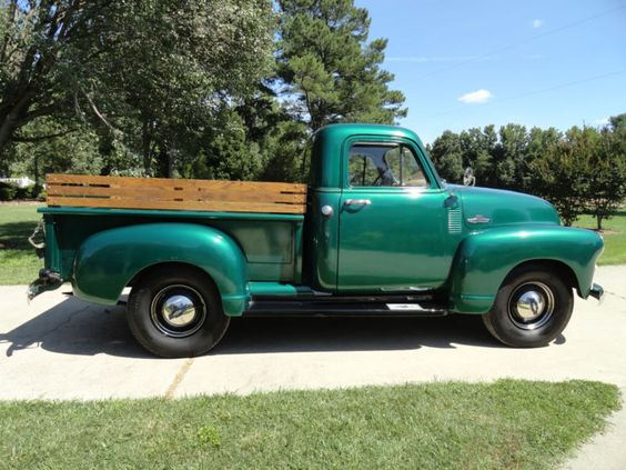 1950 To 54 Chev Pickups On Ebay Autos Post