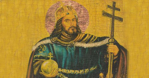 Saint Stephen the Great (977-1038), was the son of the Magyar chieftain Geza, Stephen succeeded him as leader in 997. Already raised a Christian, in 996 he wed the daughter of Duke Henry II of Bavaria and devoted much of his reign to the promotion of the Christian faith.