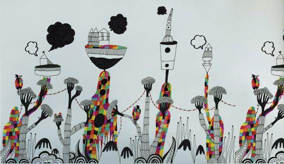 Bodhi Tree - Wall Story - (Thai) Creative Business:::เรื่องเล่าบนผนัง – วอลเปเปอร์จาก Bodhi Tree