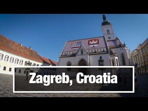 City Walks Zagreb Croatia Virtual Treadmill Walking Tour Youtube In 2020 Zagreb Walking Tour Croatia